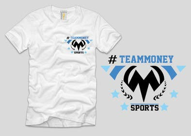 Nro 14 kilpailuun Design a T-Shirt for Sports Company käyttäjältä ezaz09