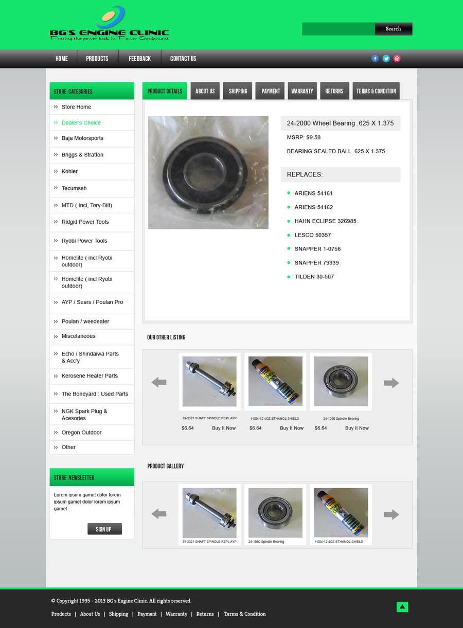 Inscrição nº                                         13                                      do Concurso para                                         Design an ebay Template for our eBay store & listings (Themed to our business)