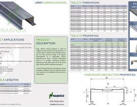 newstartcreative tarafından Design a Datasheet for Products için no 9