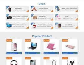 Nro 4 kilpailuun Design 9 templates for a upcoming price aggregator site käyttäjältä adixsoft