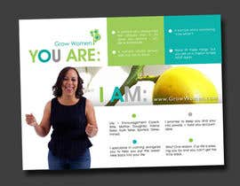 #7 para Design a Card for Life Coach por Decafe