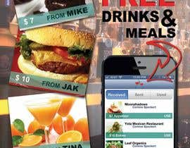 #24 para Design a In-store Restaurant Flyer for Mobile App. por ProliSoft