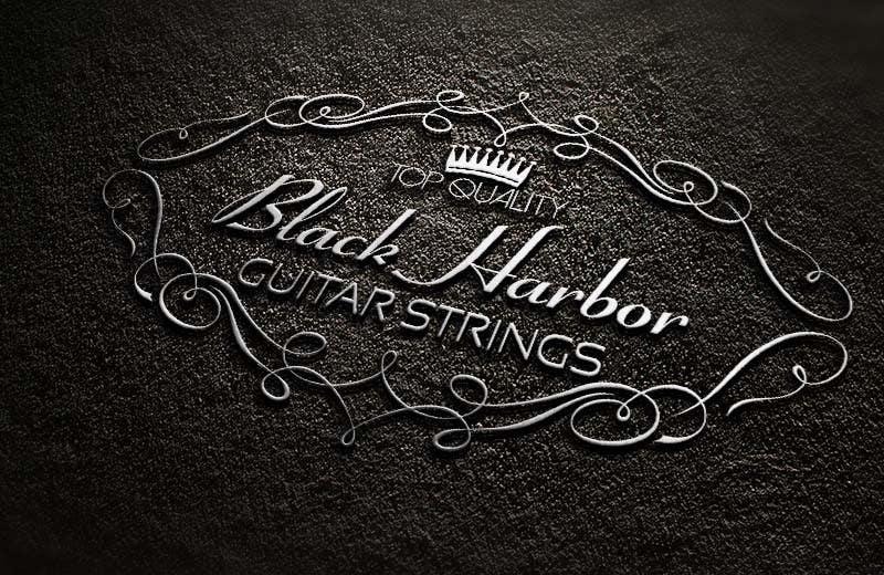 Konkurrenceindlæg #96 for Design a Logo for a Guitar Strings company called Black Harbor.