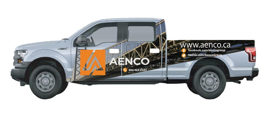 10b4da0dc9 Contest Entry  28 for We need some Graphic Design for Company Vehicle Vinyl  Wraps