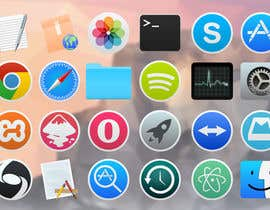 #9 untuk Design some Icons for Linux OS oleh Nayak43582