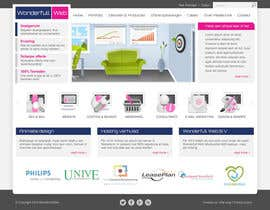#8 para Design a Website Mockup for www.wonderfullweb.nl por antonyngo