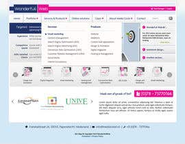 #26 para Design a Website Mockup for www.wonderfullweb.nl por aleksejspasibo