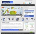 Graphic Design Entri Peraduan #14 for Design a Website Mockup for www.wonderfullweb.nl