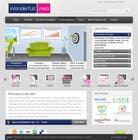 Graphic Design Entri Peraduan #20 for Design a Website Mockup for www.wonderfullweb.nl