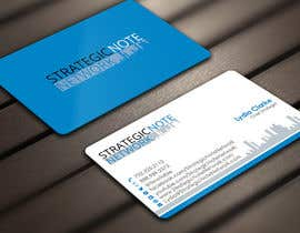 Derard tarafından Design Contemporary, Modern Business Cards for Strategic Note Network için no 26