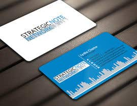 Derard tarafından Design Contemporary, Modern Business Cards for Strategic Note Network için no 34