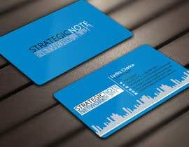 Derard tarafından Design Contemporary, Modern Business Cards for Strategic Note Network için no 35