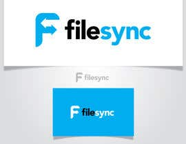 AlignmentGS tarafından Design a Logo for FileSync.co.uk için no 24