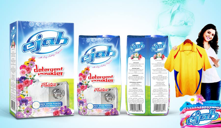 Create Print And Packaging Designs For Detergent Powder Freelancer