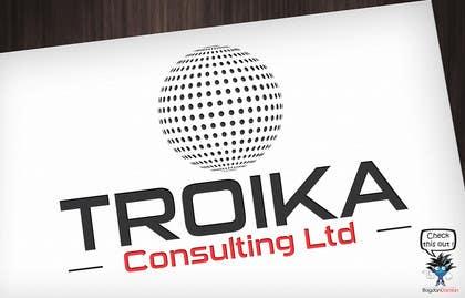 #10 untuk Design a Logo for Troika Consulting Ltd. oleh BDamian