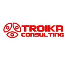 #21 untuk Design a Logo for Troika Consulting Ltd. oleh piratebay