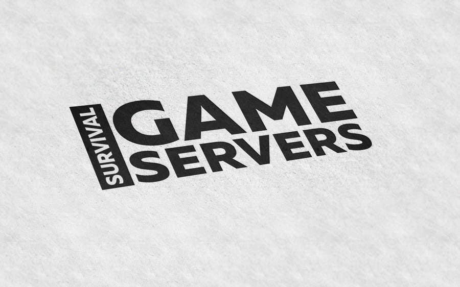 Penyertaan Peraduan #12 untuk Design a Logo for SurvivalGameServers.Com 350x75 Pixels MAX