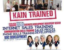 #84 untuk Design a Banner for Kain Trained Campaign oleh ClaudiuTrusca