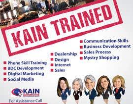 #95 untuk Design a Banner for Kain Trained Campaign oleh zeddcomputers