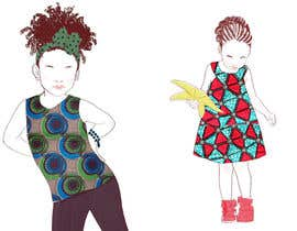 raimi tarafından Illustrate fashion & lifestyle for a Kids eclectic clothing line collection  - Stage1 için no 13