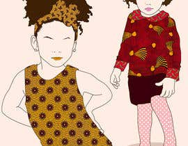 biejonathan tarafından Illustrate fashion & lifestyle for a Kids eclectic clothing line collection  - Stage1 için no 20