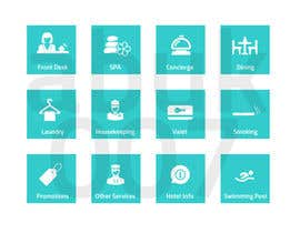 abuk007 tarafından Hotel App Icons için no 27