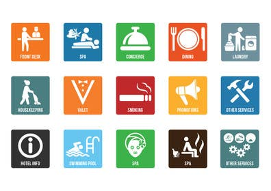 khadkamahesh07 tarafından Hotel App Icons için no 32