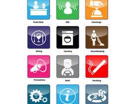 #10 for Hotel App Icons by HAJI5