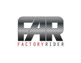 #20 para Design a Logo for Factory Rider - A Motorcycle Accessory Website por AnaCZ
