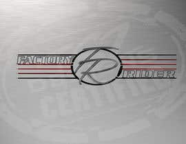 #30 untuk Design a Logo for Factory Rider - A Motorcycle Accessory Website oleh TSZDESIGNS