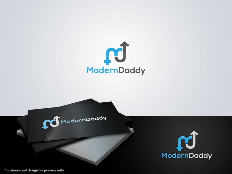 Penyertaan Peraduan #188 untuk Design a Logo for Modern-Daddy.com