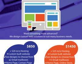 #7 for Design a Flyer for Web Design and Web Hosting company af Aleshander