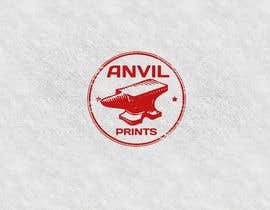 #21 para Design a Logo for my company: Anvil Prints por niccroadniccroad
