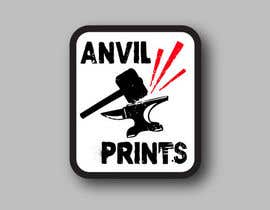 #29 para Design a Logo for my company: Anvil Prints por insane666