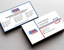 Nahidrahman19 tarafından Design some Business Cards for Med Transporter için no 25