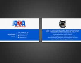 #15 untuk Design some Business Cards for Med Transporter oleh einsanimation