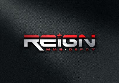 #95 for Design a FRESH and INTERESTING Logo for REIGN MMA DEPOT af vsourse009