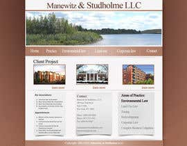 #74 dla Website Design for Manewitz & Studholme LLC przez madcganteng