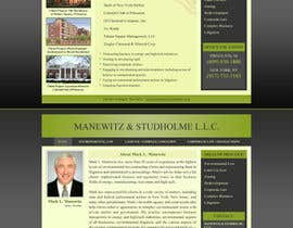#130 dla Website Design for Manewitz & Studholme LLC przez MohammadNadeem91