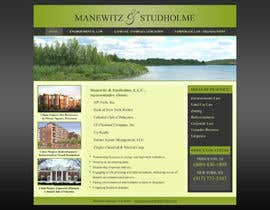 #123 dla Website Design for Manewitz & Studholme LLC przez MohammadNadeem91