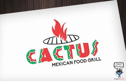 """#125 for LOGO design for """"Cactus"""" a fast food Mexican  grill ! af BDamian"""