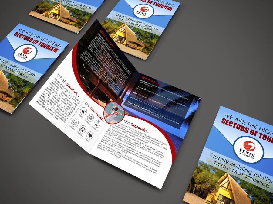 Penyertaan Peraduan #8 untuk Design a multi-purpose brochure for Construction Company