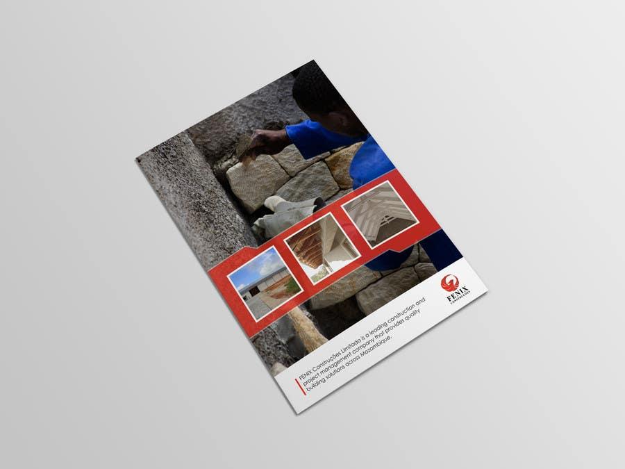 Penyertaan Peraduan #18 untuk Design a multi-purpose brochure for Construction Company
