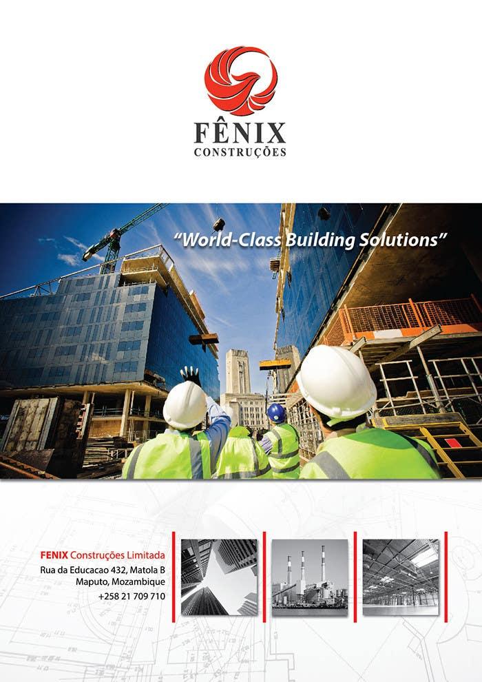 Penyertaan Peraduan #11 untuk Design a multi-purpose brochure for Construction Company