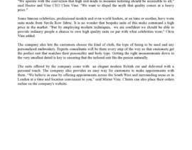 jopstreak tarafından Press Release - Hector & Vine için no 8