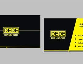 #28 for Design some Business Cards for DEDE Transport af Shrey0017