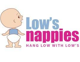 #76 para Logo Design for Low's Nappies por fecodi
