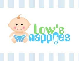 #103 för Logo Design for Low's Nappies av pinky