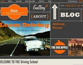#1 for Webpage design for Driving School af gaurangdutt