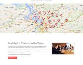 #45 untuk design Website Mockup for a real estate website oleh Ganeshdas